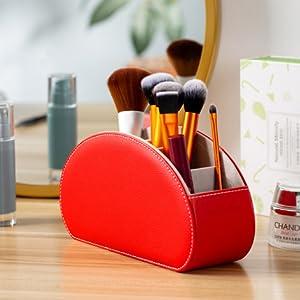 Makeup brush holder box