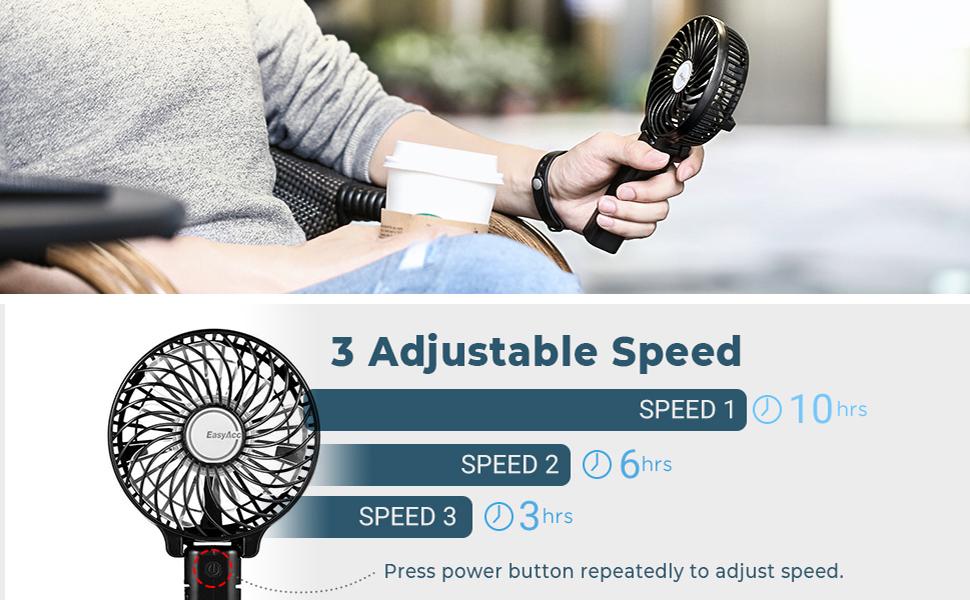 3 adjustable speed