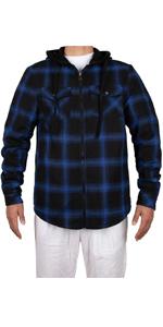 Mens Sherpa Lined Plaid Flannel Shirt Jac