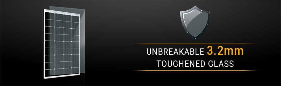Unbreakable 3.2mm Toughened Glass