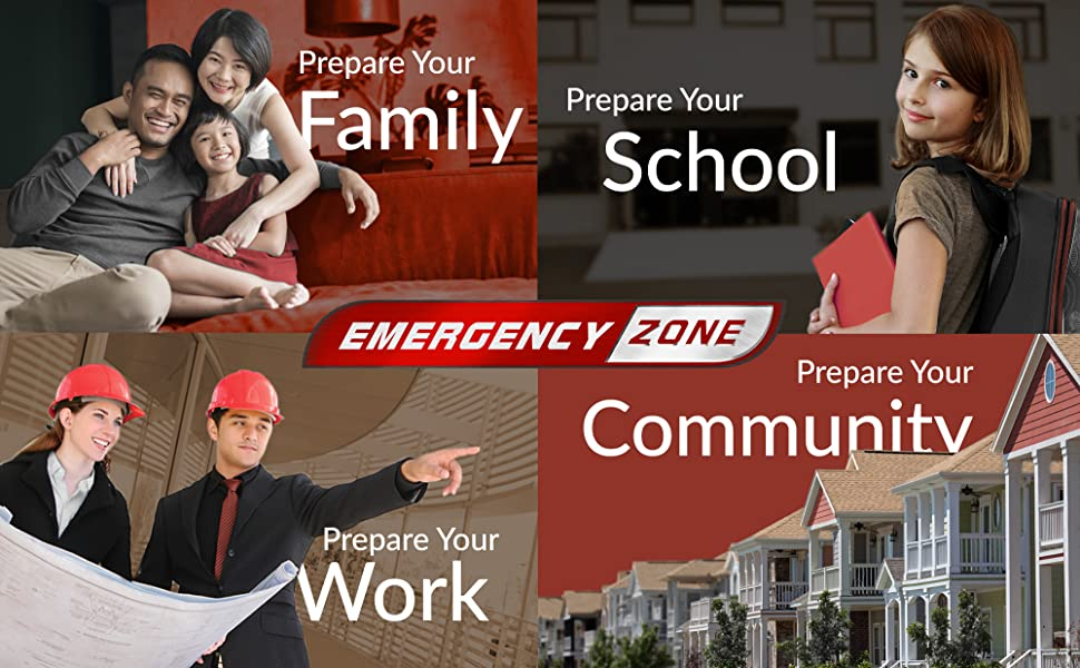 prepare your home school office community work family supply a peace of mind security comfort FEMA