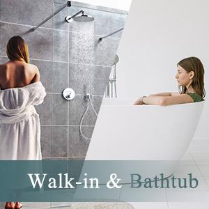 Walk in amp; bathtub