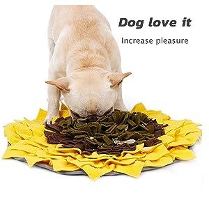 puzzle toys dog snuffle mat mats cat nosework pet for small large druable big treat bowl