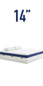 14'' queen mattress