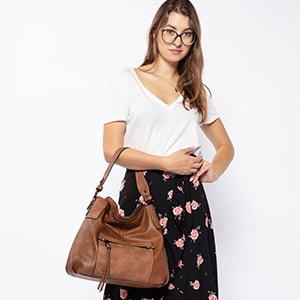 large tan leather handbags pleather ladies synthetic crossbody bags brown
