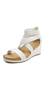 women platform wedge sandals CASUAL