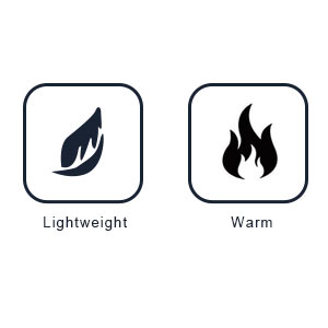 lightweight, warm winter jacket for women