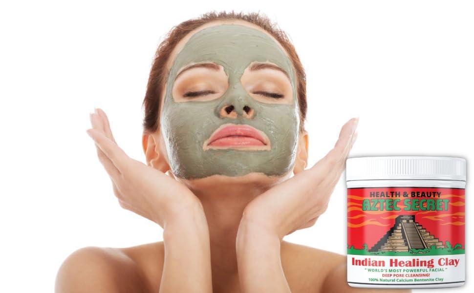aztec secret facial mask cleansing