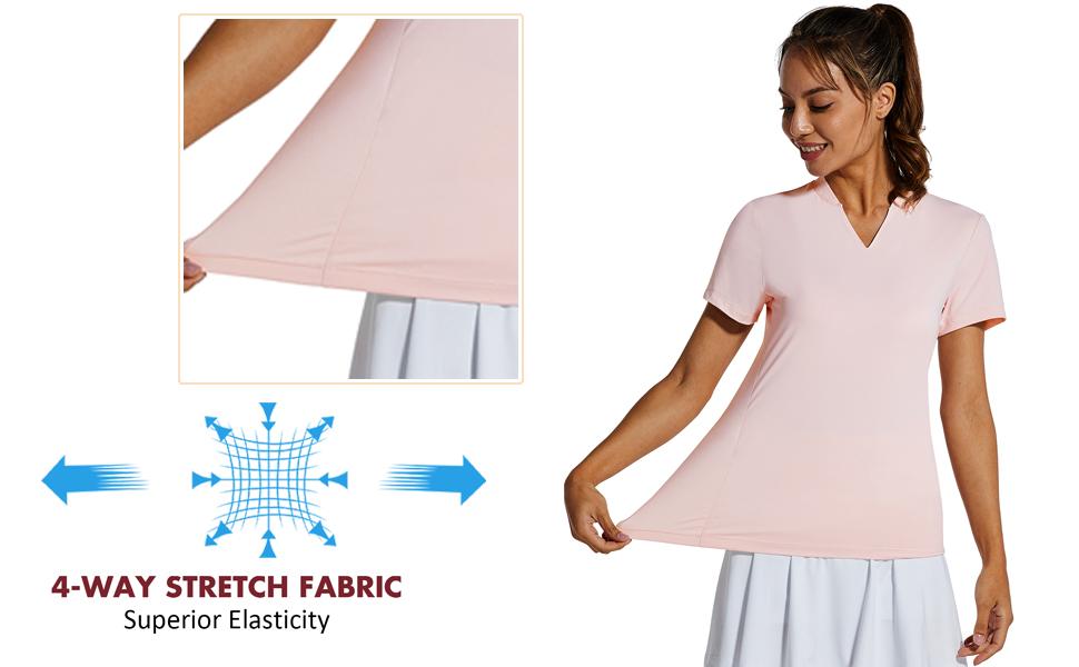 Women GOLF Short Sleeve Shirts