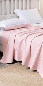 Matching Waffle Blanket Throw