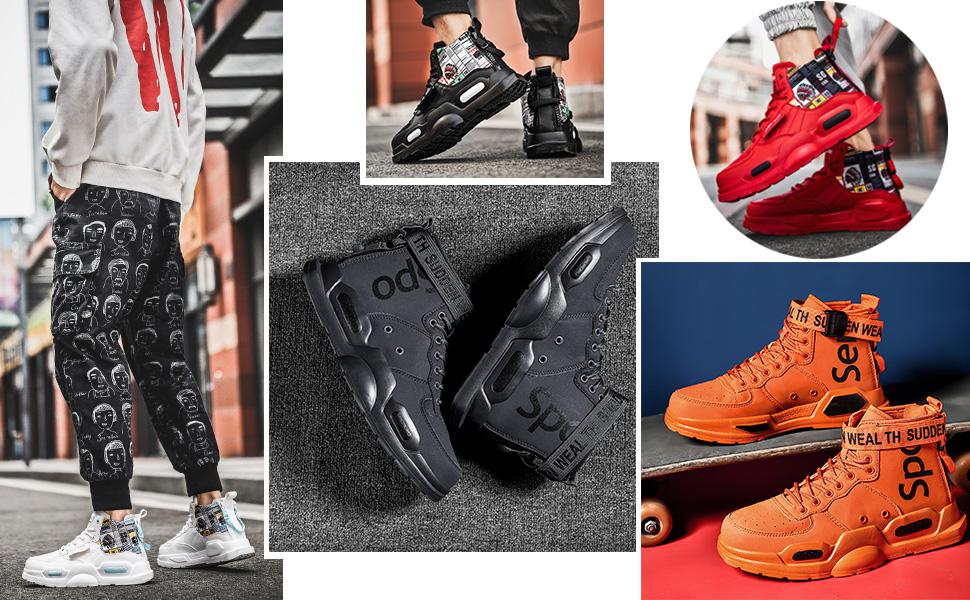 Scarpe da corsa casual per gli uomini Sport Sport Athletic Boots