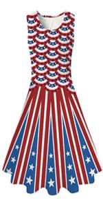 Flag Fish Scale Dress