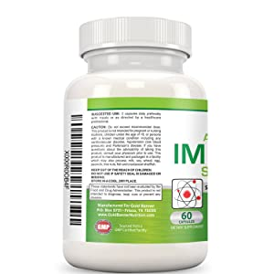 Gold Banner Advanced Immune Support Supplement