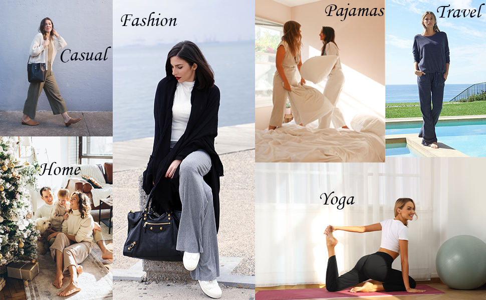 fashion comfy longe pants for women