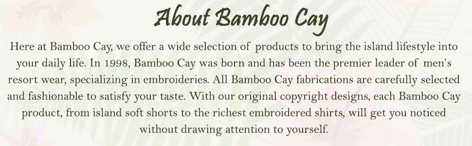 Island tropical bamboo shirt