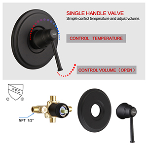 single handle
