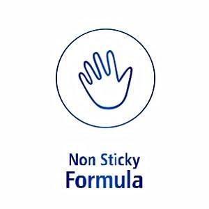 Non sticky Formula