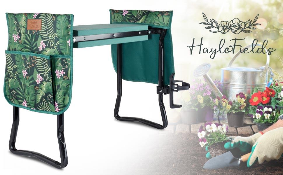 Garden Kneeler amp; Seat with Drink Holder