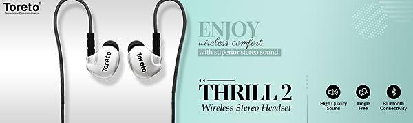 bluetooth earphones, earphones with microphone, wireless headset with mic, earphones with microphone