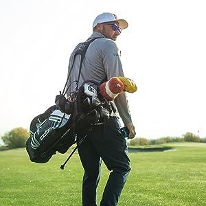 Cobalt Golf Laser Rangefinder in action