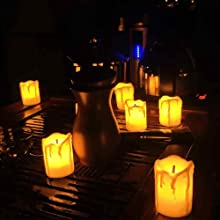 candles for home decor led
