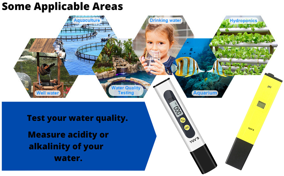 ph meter for water testing digital Lcd Pocket Pen Type Purity Filter Pool Aquarium Measurement