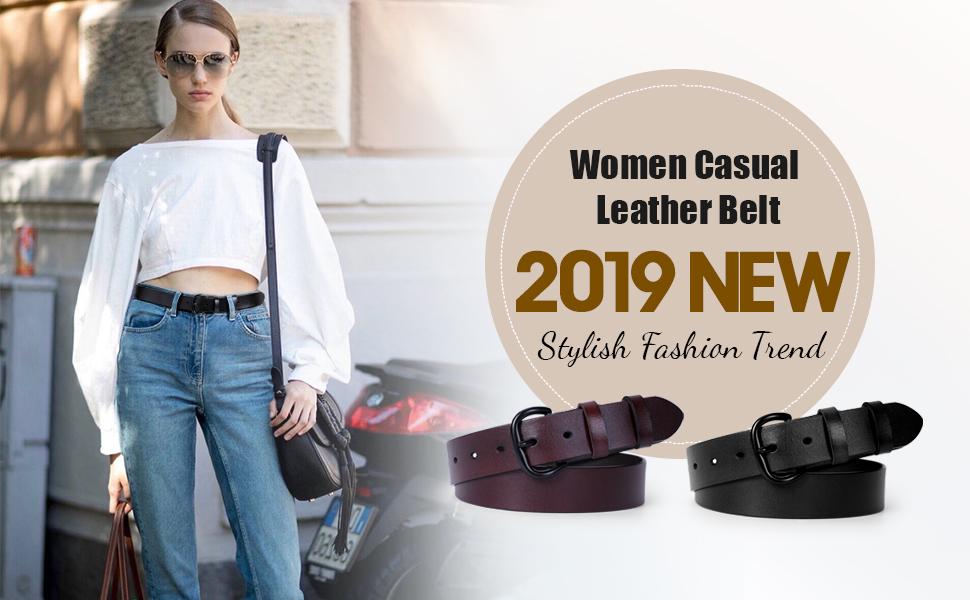 women fashion jeans belt