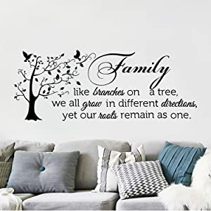 Wall Quote Home of the Free Because of the Brave Vinyl Wall Decal Or Car Sticker Mv2color01ET