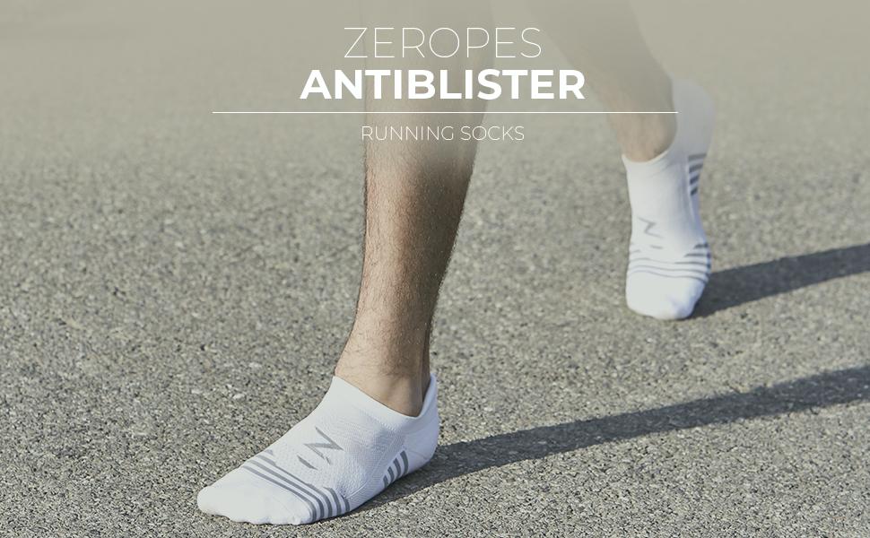 Zeropes Antiblister Running socks High quality
