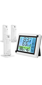 Interne externe thermometer.
