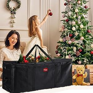 christmas tree tote