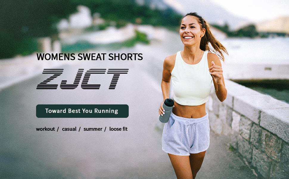 Womens Shorts Summer Casual Loose Comfy Lounge Athletic Shorts Yoga Workout Sweat Shorts with Pocket