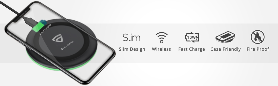 RAEGR Wireless Charger Features