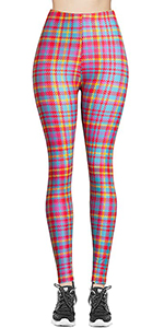 seasonal printed leggings