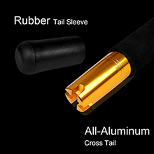 All aluminum rubber tail sleeve