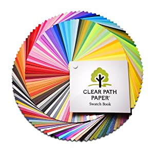 Clear Path Paper Swatch Book