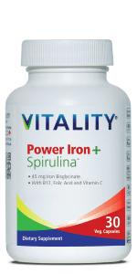 Power Iron + Spirulina