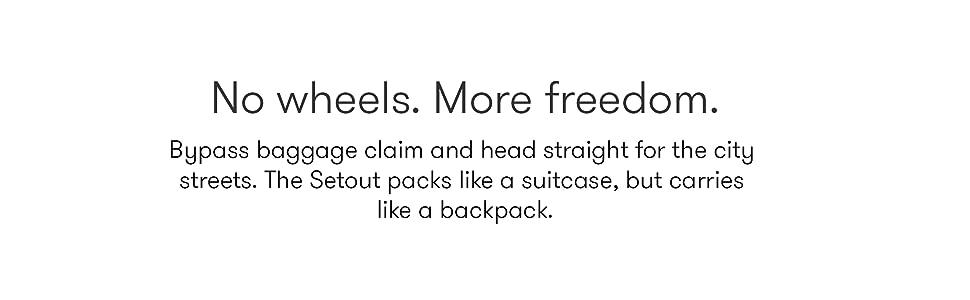 No Wheels more freedom