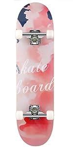 skatboard skateboard jugendliche skateboard kinder ab 8 jahre mädchen skateboard pink kinder