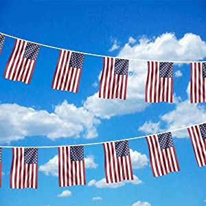 vlaggenlijn Amerika