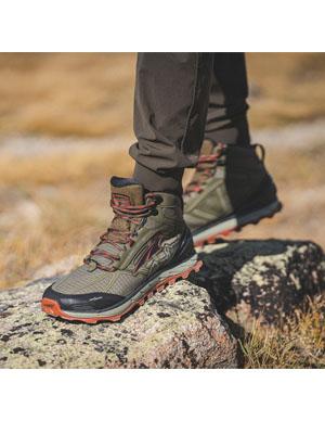 Lone Peak 4 Mid Mesh Trail Running Shoe