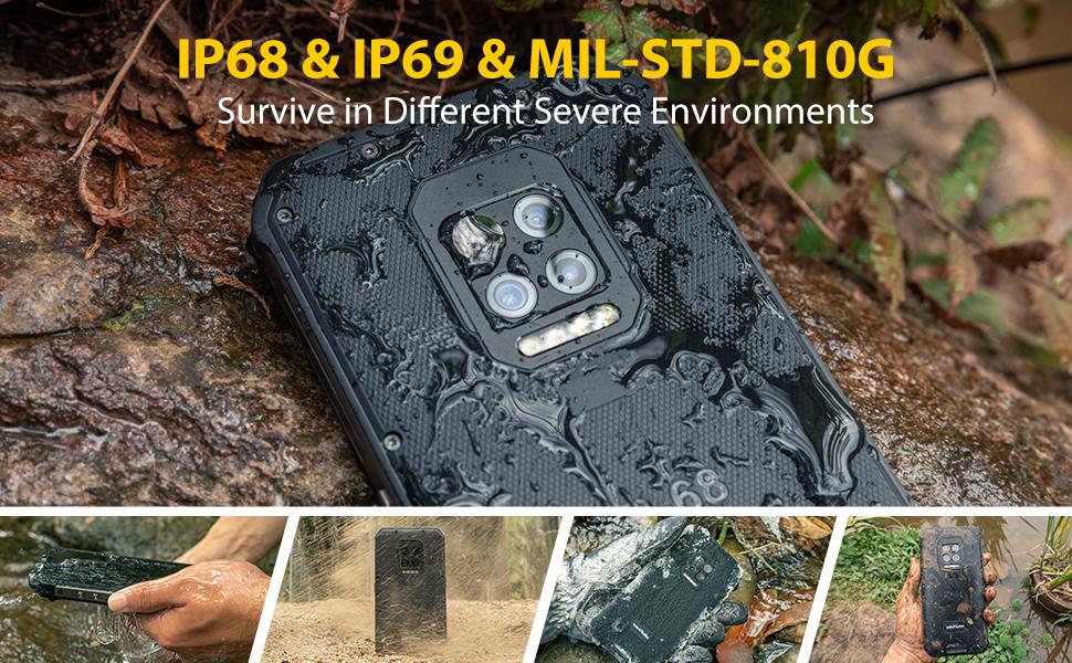ulefone armor 9 ip68 warterproof phones rugged phones