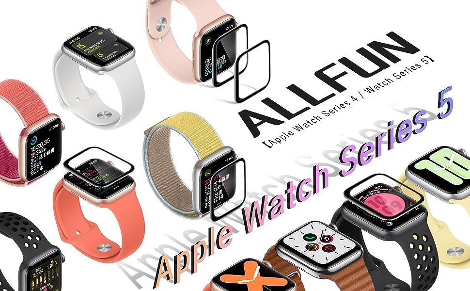 Apple Watch series 5 / Series 4 フィルム 複合素材