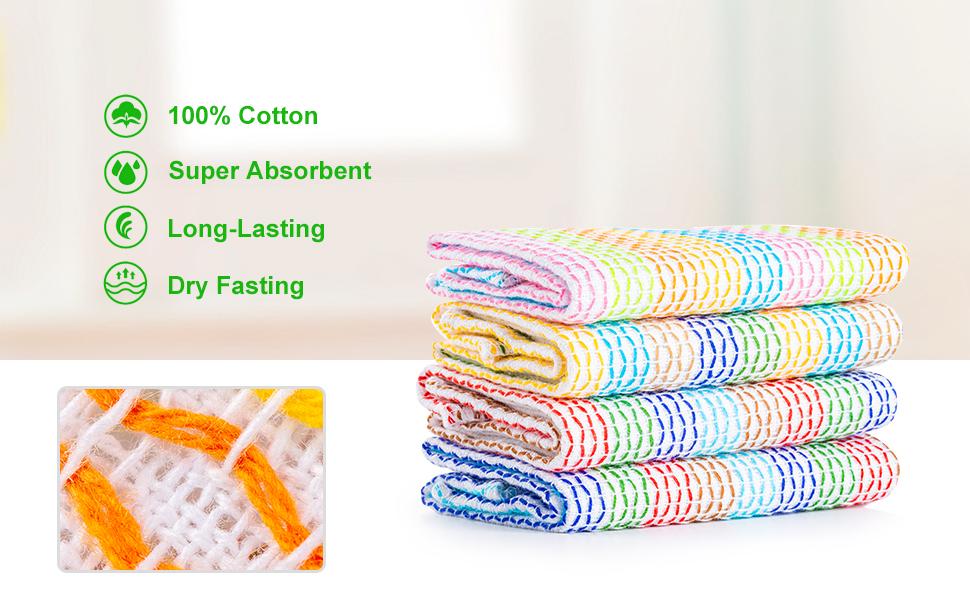dish towels kitchen dish cloths