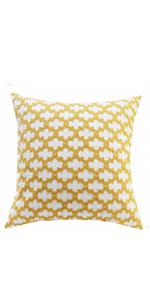 yellow cushion covers