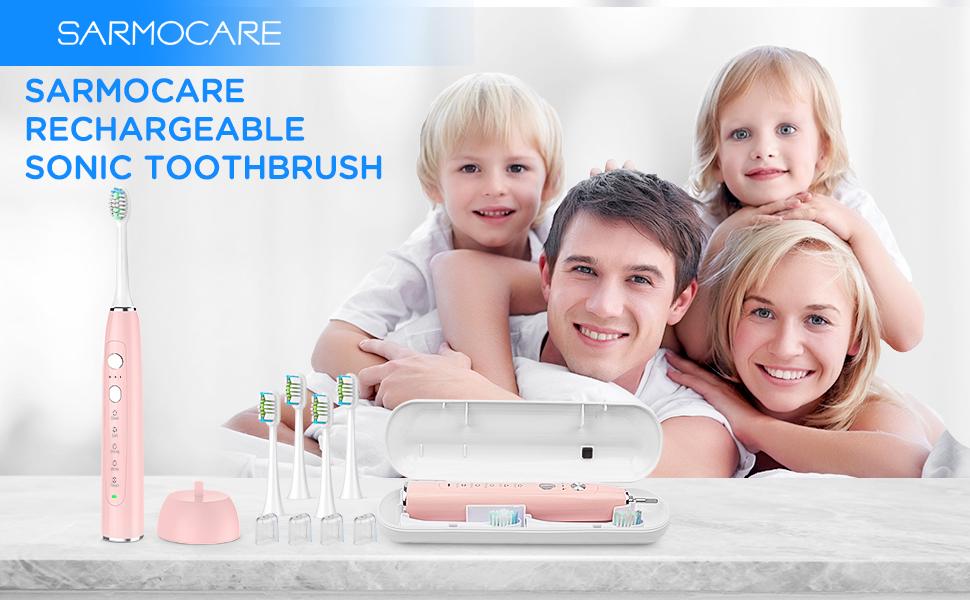 Sarmocare electric toothbrush