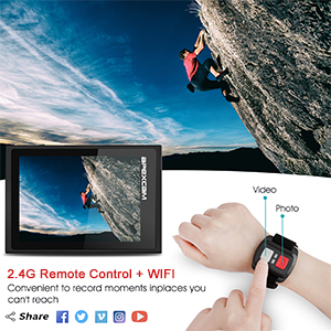 2.4G Remote Control+WIFI