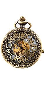 Orologi tascabili meccanici