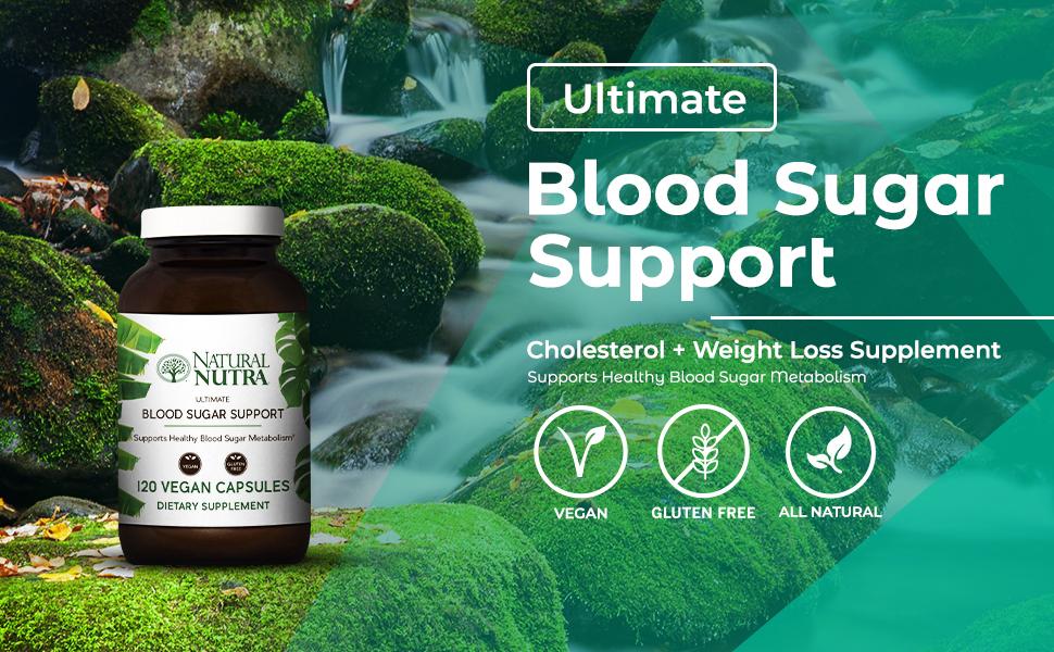 Natural Nutra Ultimate Blood Sugar Support
