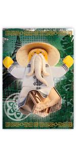 LEGO Ninjago Movie Sensei Wu Notebook Journal